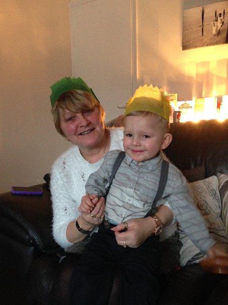 Our precious grandson Zack xxx