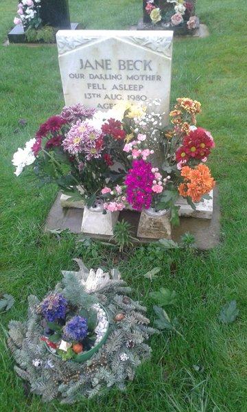 Hope you like the flowers mum xxx