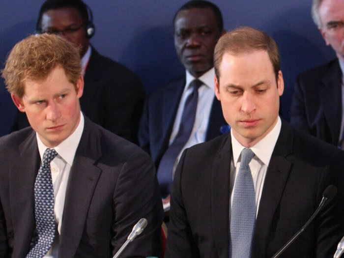 Prince Harry and Prince William. Photo by the Foreign and Commonwealth Office.