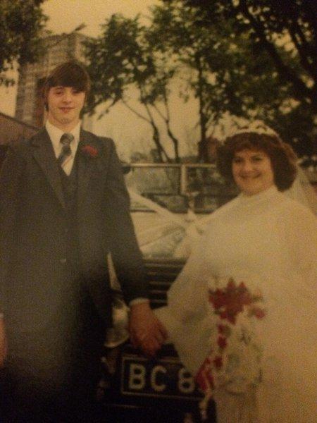 Happy 35th wedding anniversary dad xxxx