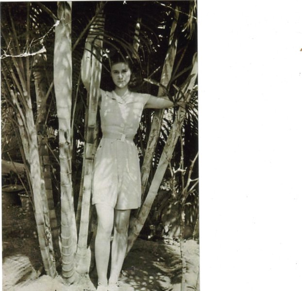 My darling mom when she was about thirteen. Xx