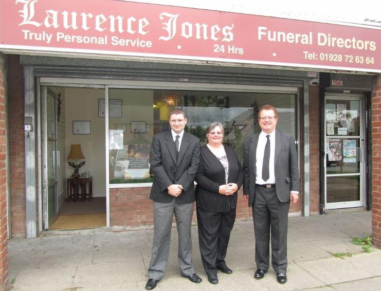 Laurence Jones Funeral Directors, Chester