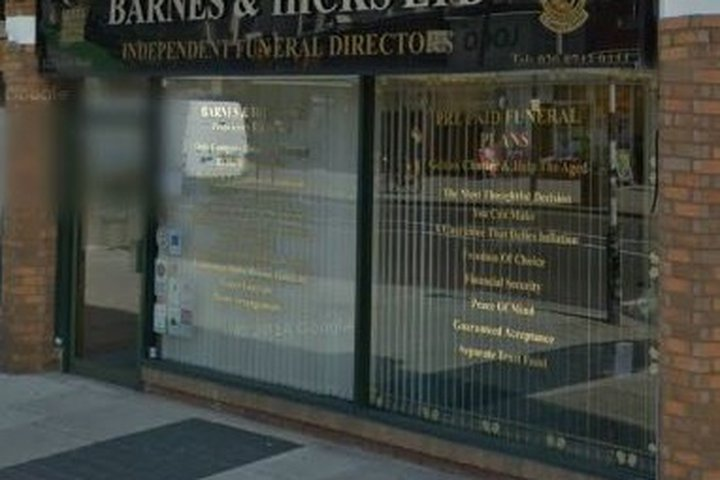 Barnes & Hicks Independent Funeral Directors Ltd