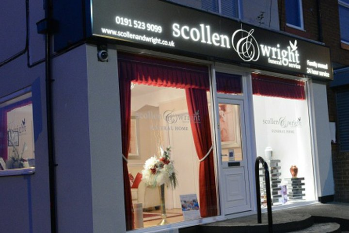 Scollen & Wright Funeral Service, Silksworth Head Office