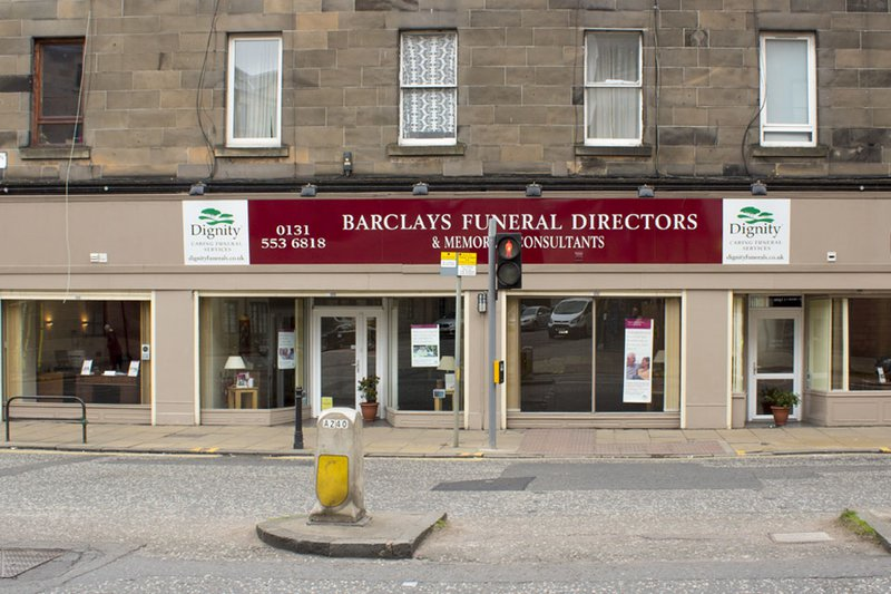 Barclays Funeral Directors, Leith, Edinburgh, funeral director in Edinburgh