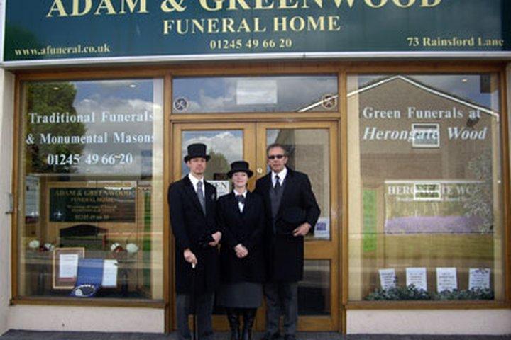 Adam & Greenwood Funeral Home LLP, Chelmsford