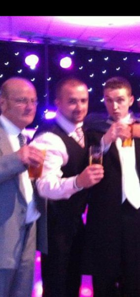 Miss you lots dad, have a pint up there for us. Lots of love from bruiser ❤❤