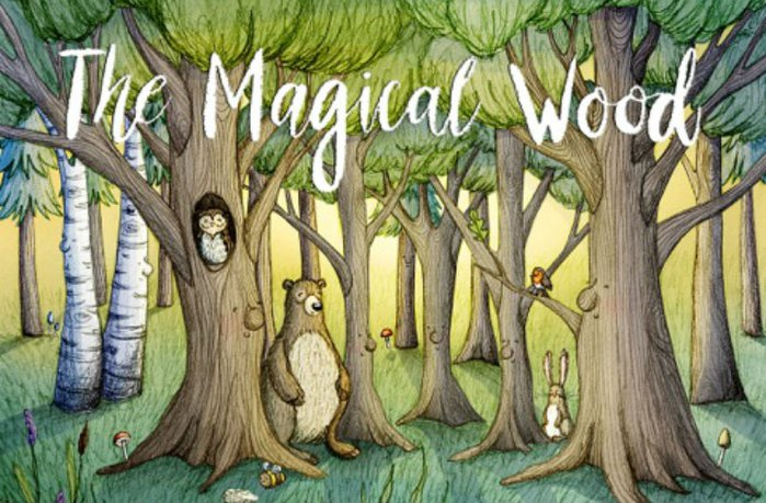 the magical wood book cover