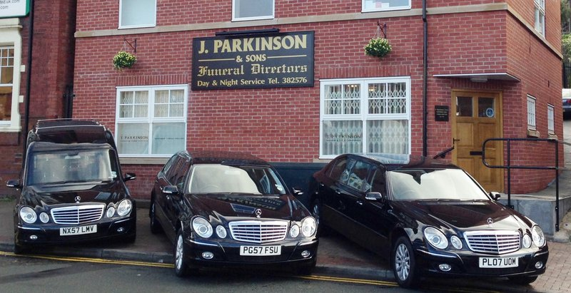 J Parkinson & Sons Funeral Directors, Wickersley, Rotherham, funeral director in Rotherham