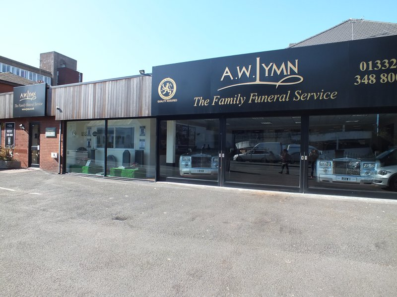 A.W. Lymn Derby, Derbyshire, funeral director in Derbyshire