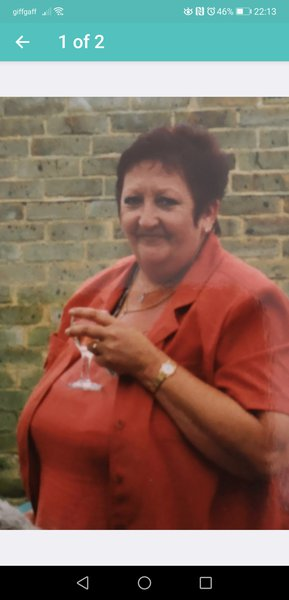 This photo was taken at our daughter Mary's s christening 18 years ago, I love this photo of aunty glynis miss u my sunshine u always brightened up my day and I love you