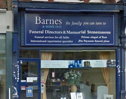 Barnes & Sons, Shepherd's Bush