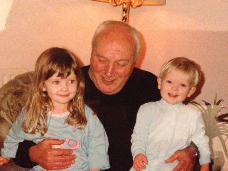 Grandad - with Rosie & Joel