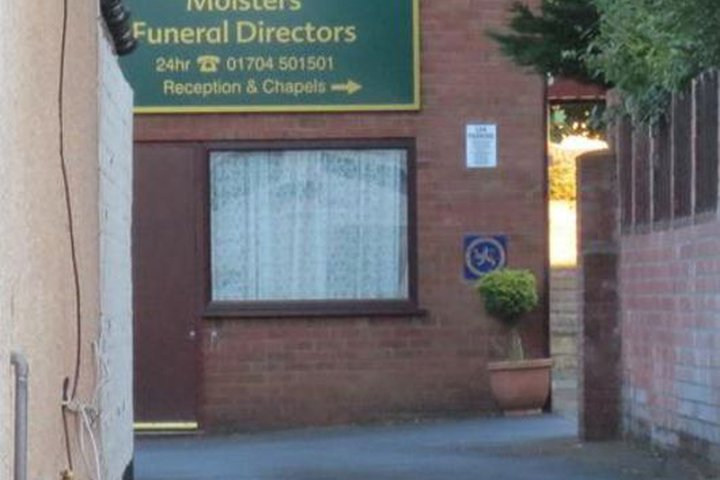 Moisters Funeralcare, Southport