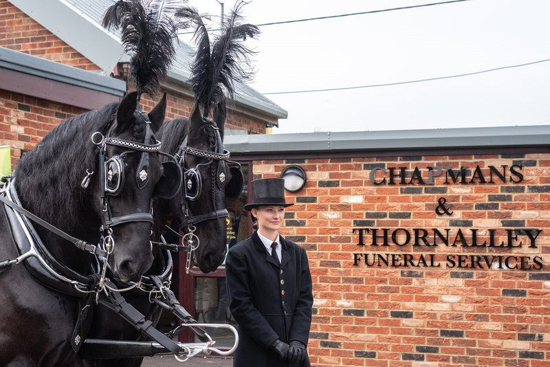 Chapmans & Thornalley Funeral Services, Norfolk, funeral director in Norfolk