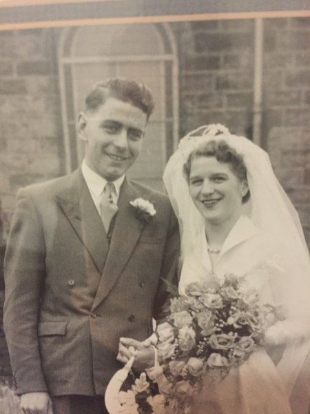Our lovely Grandma and Grandad x