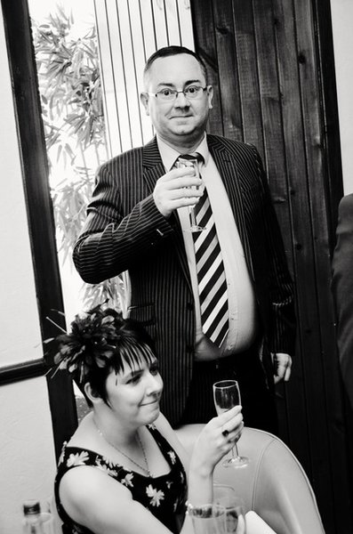 Your first date, at our wedding. What a great couple. X
