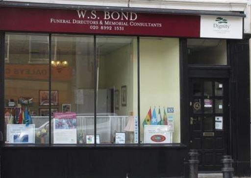 W S Bond Funeral Directors, Acton