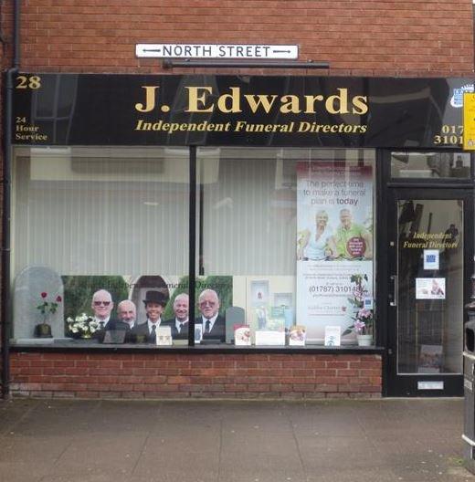 J Edwards Independent Funeral Directors, Sudbury