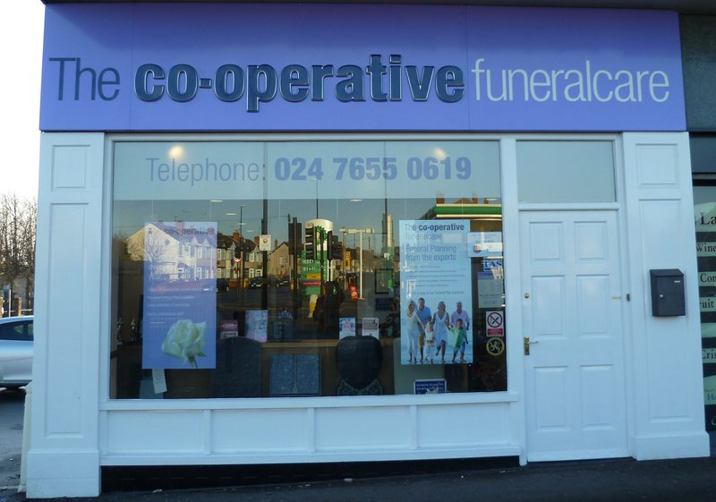 The Co-operative Funeralcare Ansty Road, West Midlands, funeral director in West Midlands
