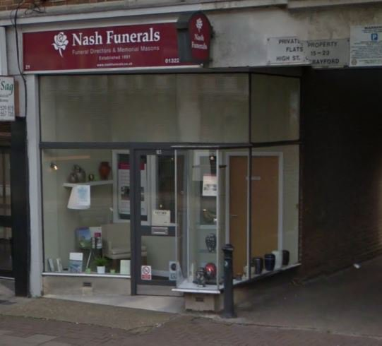 Nash Funeral Directors, Dartford, London, funeral director in London