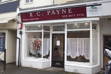 R C Payne & Son Funeral Directors, Shirley