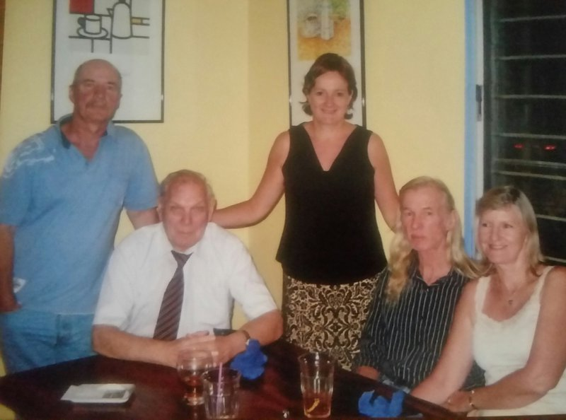 This photo was taken in Darwin in July 2007.  A lovely evening out.