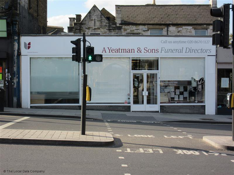 A Yeatman & Sons Funeral Directors, West Norwood