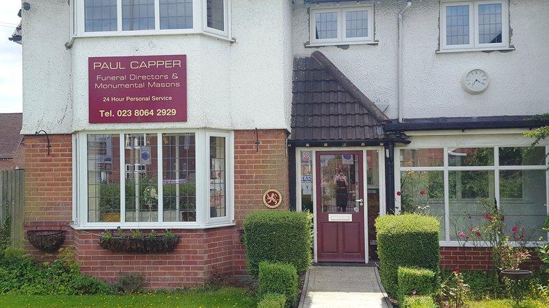 Paul Capper Funeral Directors, Eastleigh