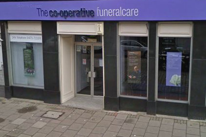 Co-op Funeralcare, Greenock
