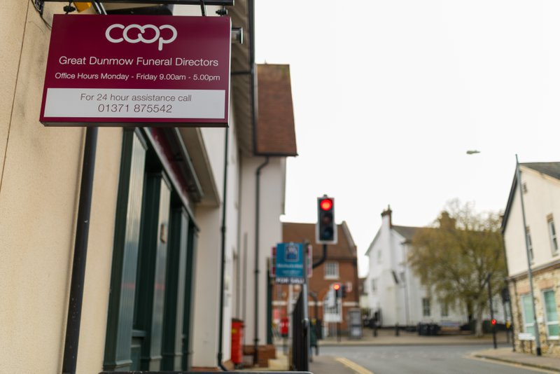 Co-operative Funeral Services Great Dunmow, Essex, funeral director in Essex