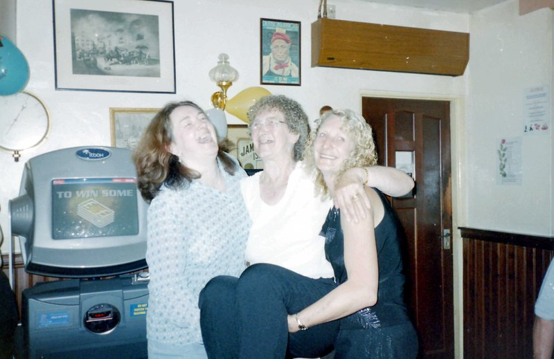 Pat and Sheila with mum Christine.
