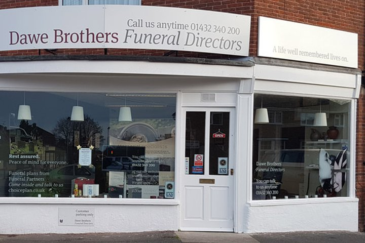 Dawe Brothers Funeral Directors, Holme Lacy Road