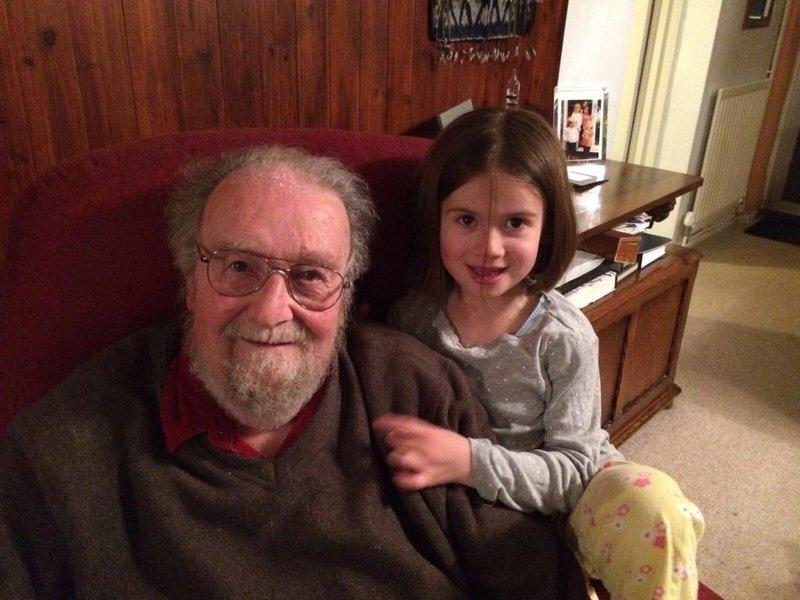Esme and her Grandpops