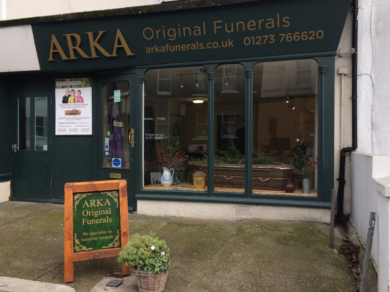 Arka Original Funerals, Surrey St, The City of Brighton and Hove, funeral director in The City of Brighton and Hove