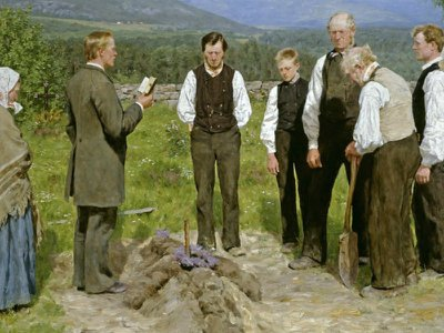 The cortege on canvas –  funerals in famous art