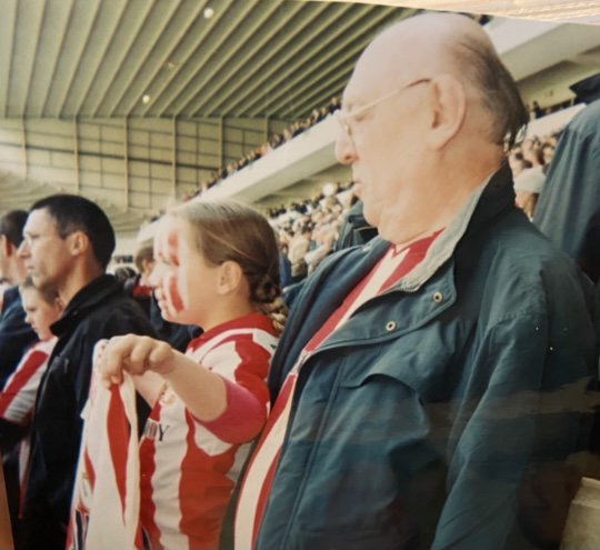 Rest Peacefully Grandad. We'll look after Grandma ('the dragon', as you'd say) for you. Love you always x