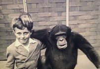 Dad and his friend at Whipsnade Zoo x