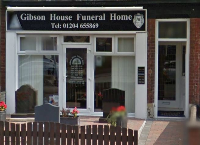 Gibson House Funeral Home Ltd, Bolton