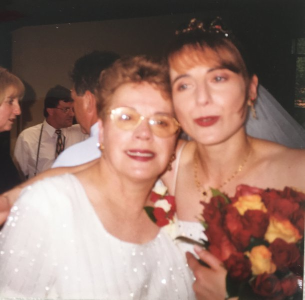 Viviana's wedding having a good time