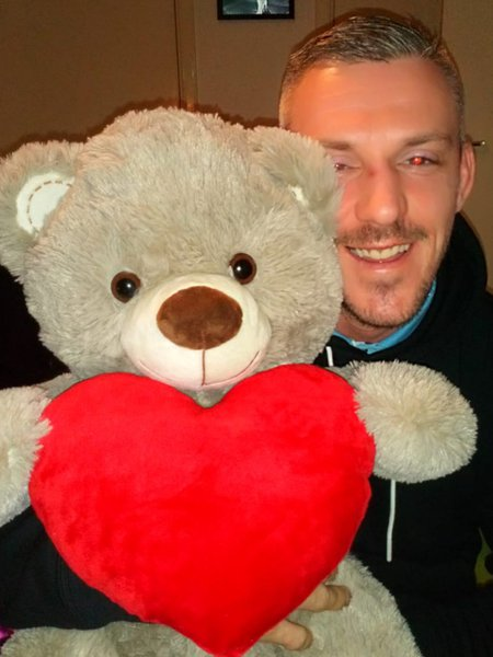 Just popped up this pic you sent me this time last year our bear 😥💔