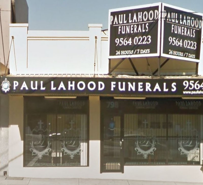 Paul Lahood Funeral Services