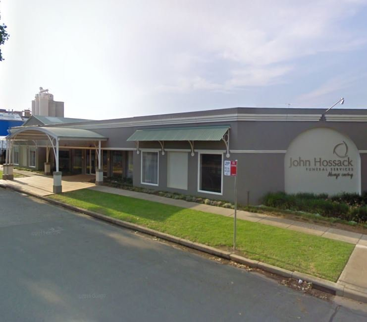 John Hossack Funeral Services, Albury, New South Wales, funeral director in New South Wales