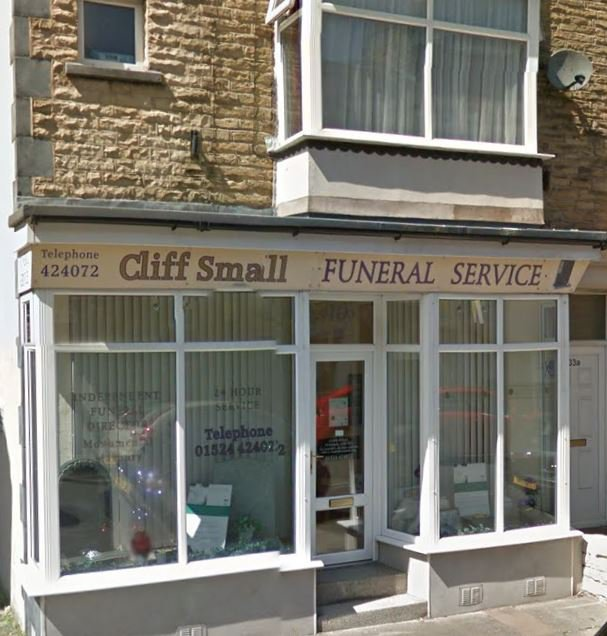 Cliff Small Funeral Service
