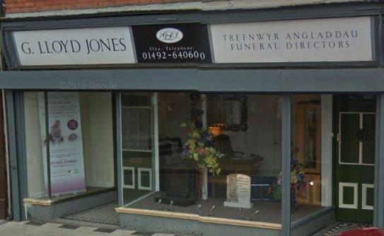 G. Lloyd Jones Funeral Directors, Llanrwst