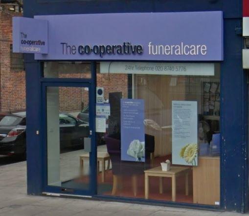 Co-op Funeralcare, East Acton