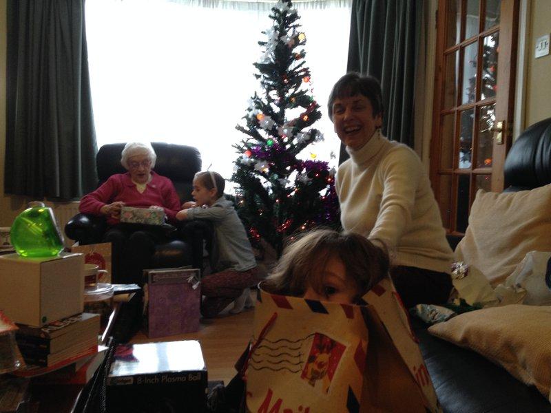 Christmas with Nan.    :)