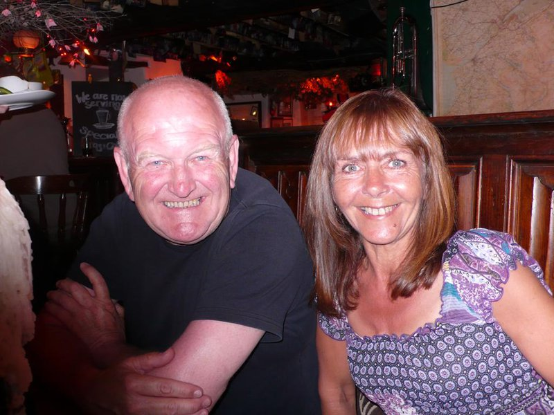 Mum and dad in Barmouth