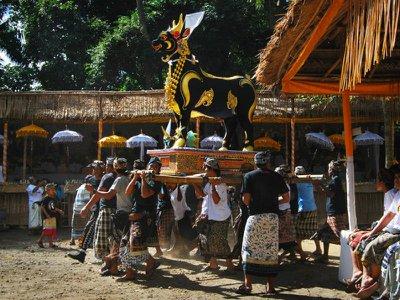 Death around the world: Cremation ceremonies in Bali