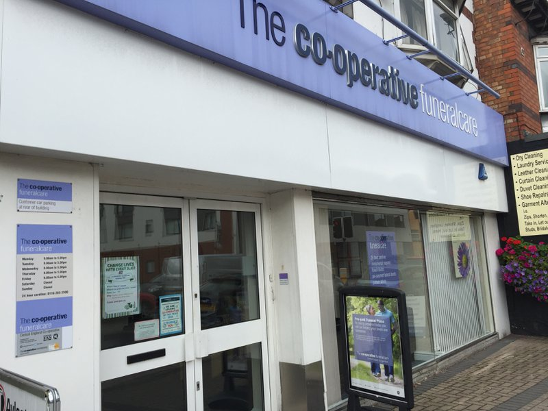 The Co-operative Funeralcare Aylestone Road, Leicestershire, funeral director in Leicestershire